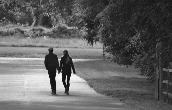 umění milovat - procházka je hit