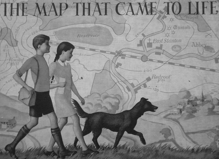 Zajem o druheho - mapa vztahu