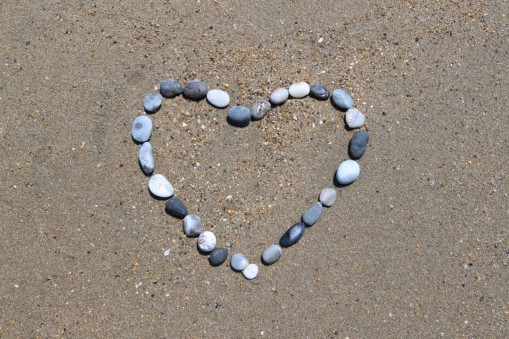 Láska, srdce - na dovolené