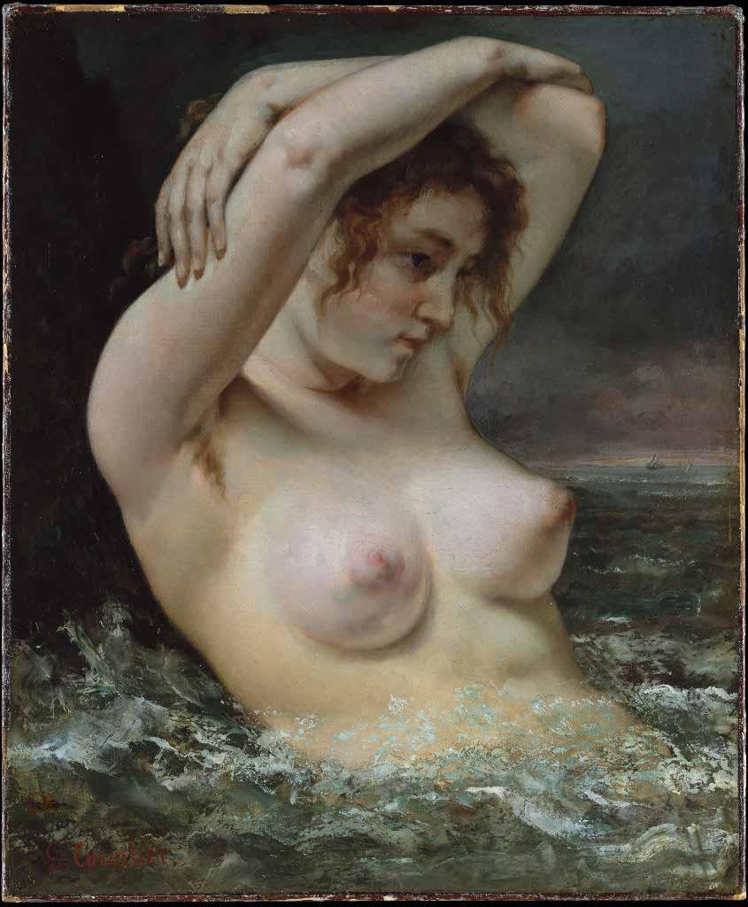 Erotika v umeni, Gustav Courbet