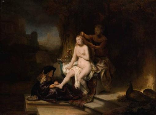 Erotika v umění, Rembrandt