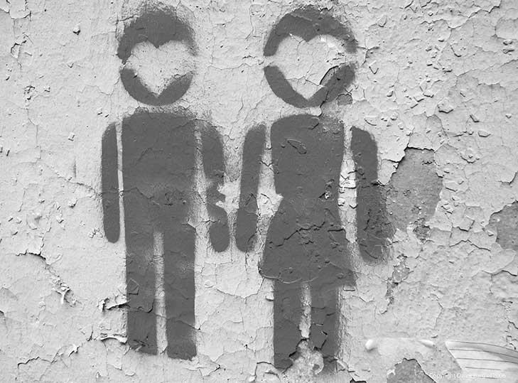 muz - zena - laska - vztahy
