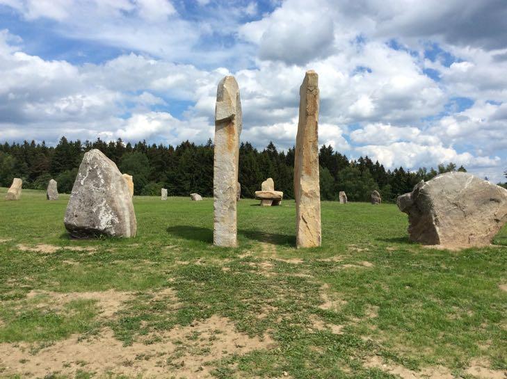 Resort Svata Katerina - kamenny kruh Druidu