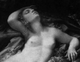 Corregio - Venus, Satyr and Cupid detail