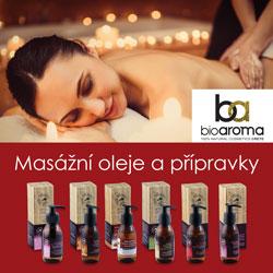 masážní oleje Bioaroma